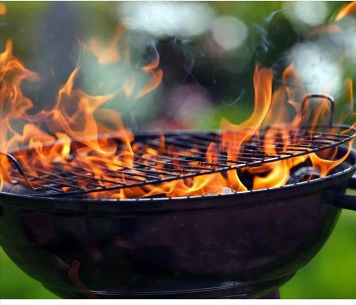 Fire Damage Summer Grilling Safety Tips